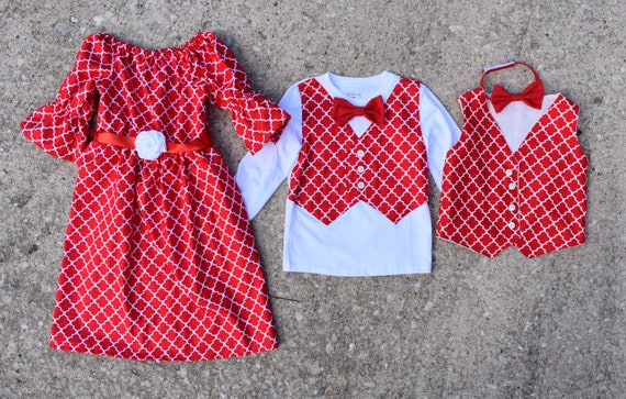 Christmas Dress for Babies Girls and Women matching sisters brother sister  match family set mommy and me dresses for Christmas
