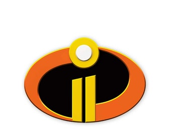 photo regarding Incredibles Logo Printable named Incredibles 2 Etsy