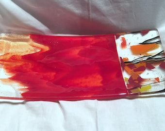 fused glass bowl B18