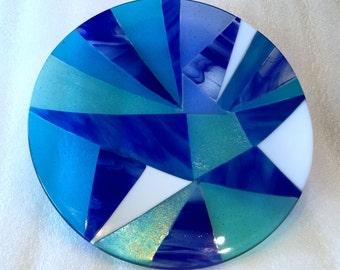 Fused glass bowl B10
