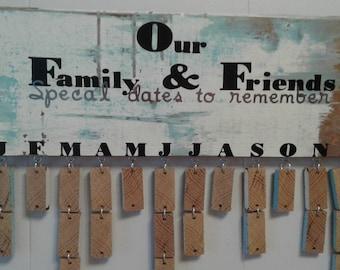 Family and friends calendar (sm)