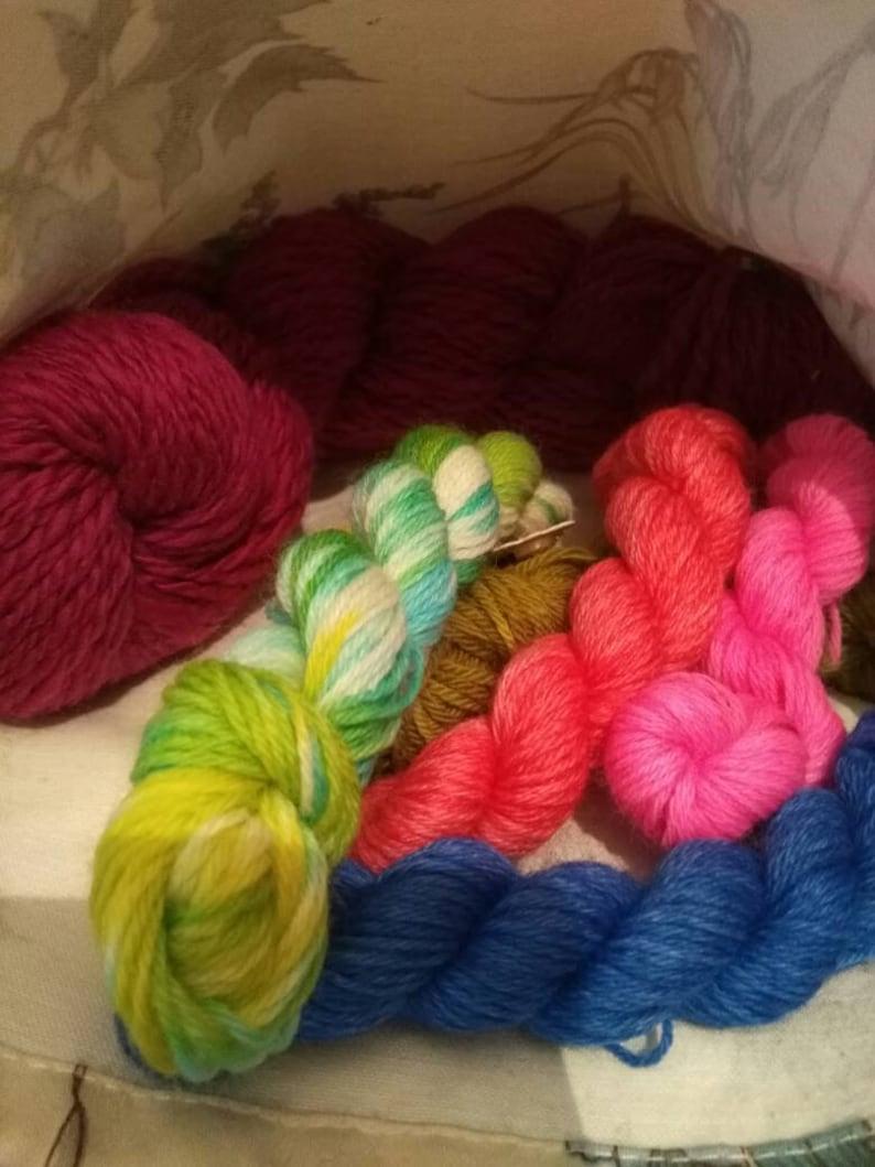 Yarn lover/'s gift set.