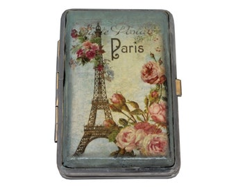 Decorated Cigarette Case Metal Cigarette Case Cigarette Etsy