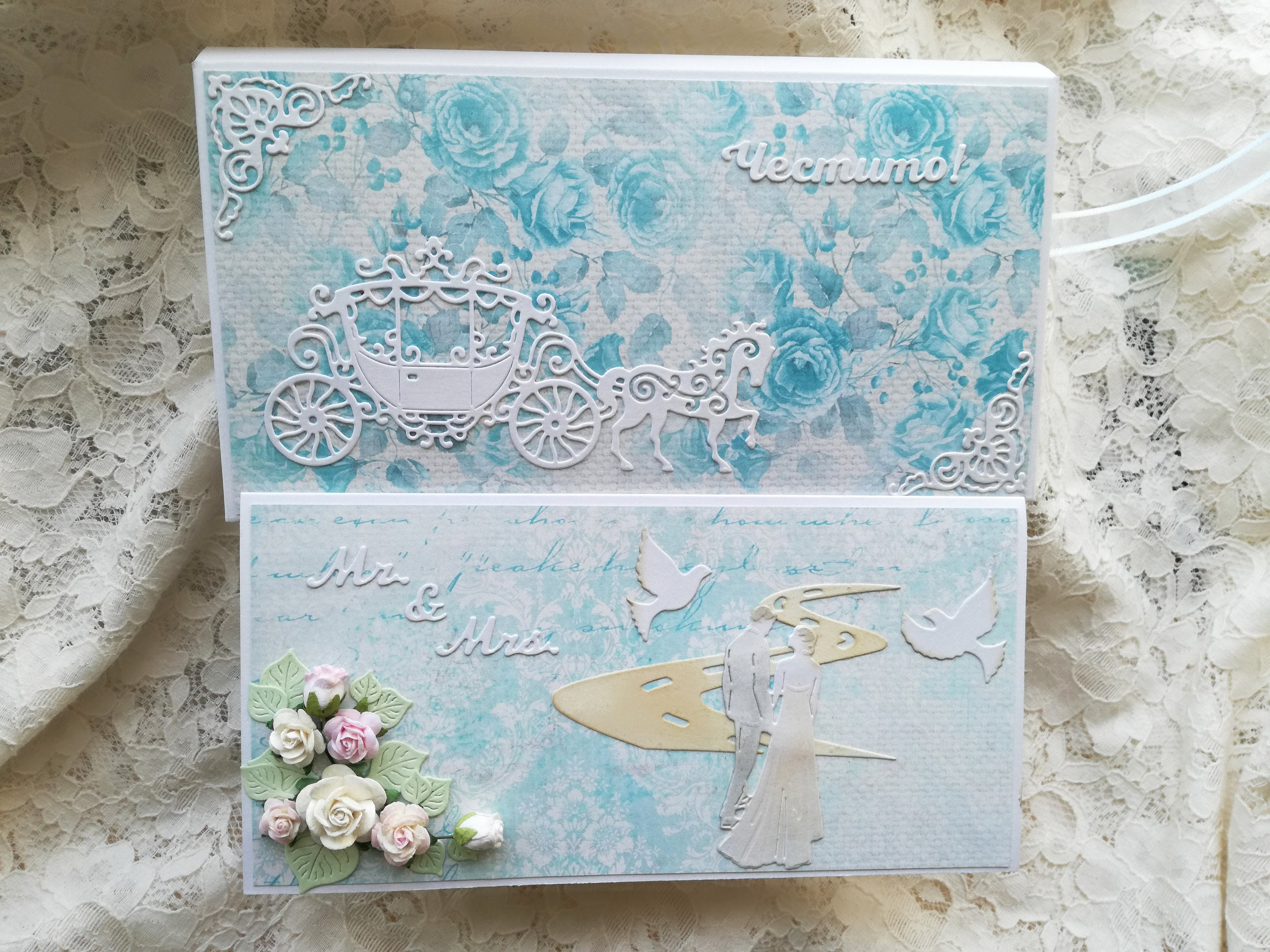 Wedding Day Card Bride and Groom Card Wedding Wishes Handmade  Congratulations Card Personalized Wedding Newly Married Couple Greeting Card