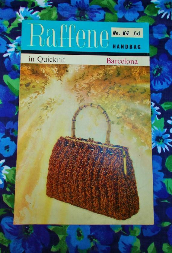 Vintage Atlas Handicrafts Knitting Pattern 1960s Pattern Etsy