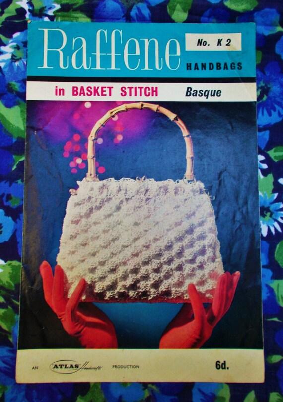 Original Vintage Atlas Handicrafts Knitting Pattern Etsy
