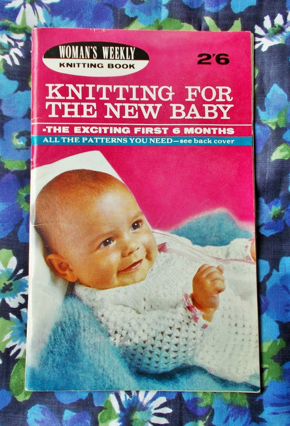 Vintage Womans Weekly Knitting Booklet Knitting For The