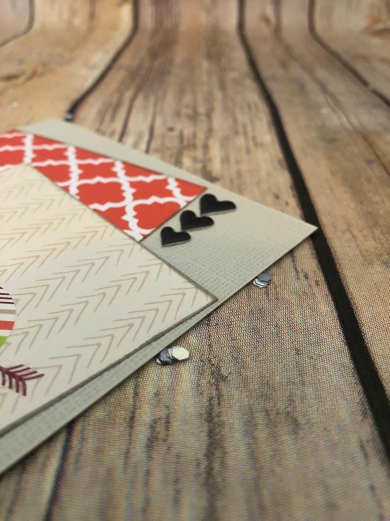 Handmade Love Card; Handmade Holiday Card; Original Homemade Card; Handmade Valentines Card
