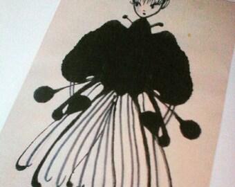 Copy sketches Parisian inspiration