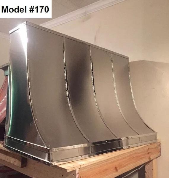 Stainless Steel vent hood, custom kitchen hoods, Stainless range hood