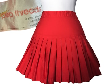 a96150be45 1960s/70s Pleated Cheer Skirt — 24
