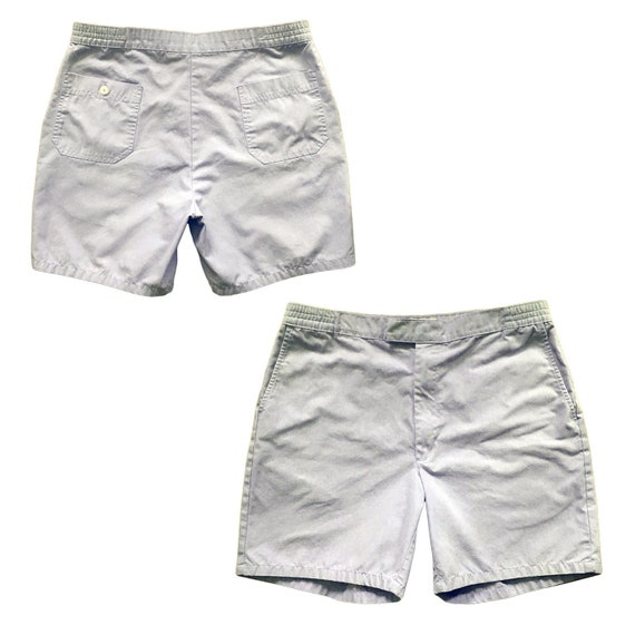 """Vintage Tailored Active Shorts — 34"""""""
