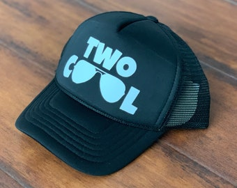 Two Cool Kids Trucker Hat Second Birthday 2nd