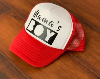 e5bbae24a9cb3 Mamas Boy Kids Trucker Hat