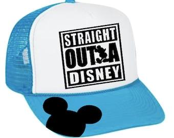 1c14a36e028 Straight Outta Disney Trucker Hat