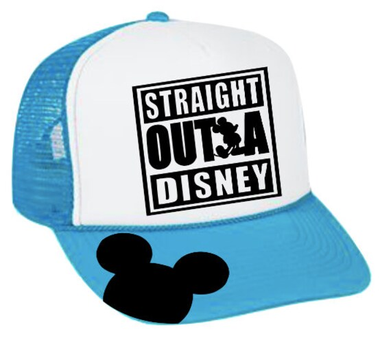 Straight Outta Disney Trucker Hat Disney Trucker Hat Disney  9c0d8c8da52