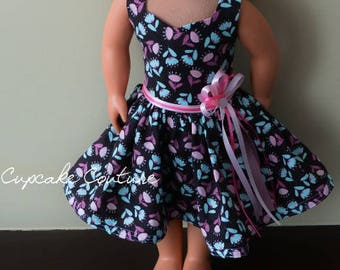 Fits American Girl Doll Dress