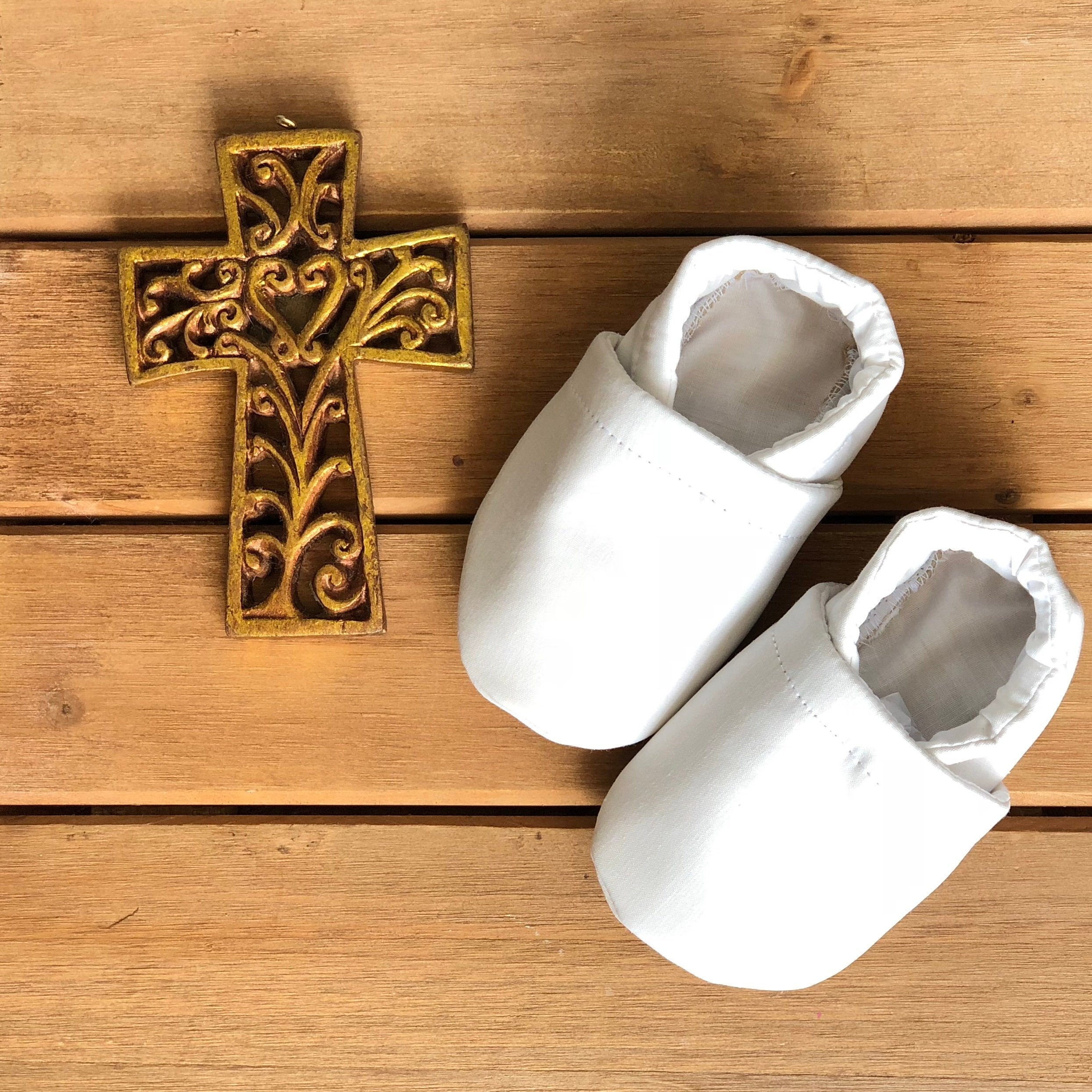 Newborn Boys Baptism Slip-on Shoes Size 0 your choice 0-3 months or Size 1