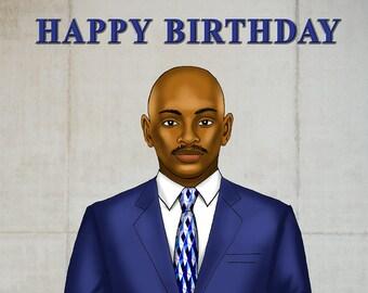 Male Birthday (Blue Suit)