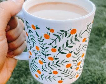 Handpainted Mug Etsy