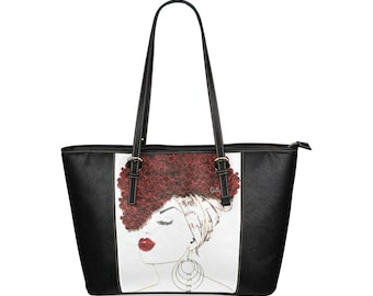 Quillqueen Leather Tote (Large)