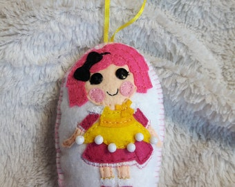 Lalaloopsy Inspired Ornament