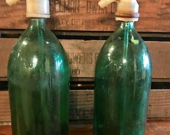 Vintage Seltzer bottle.