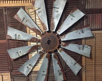 "38"" diameter vintage style windmill"