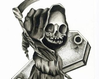 Grim Reaper Print