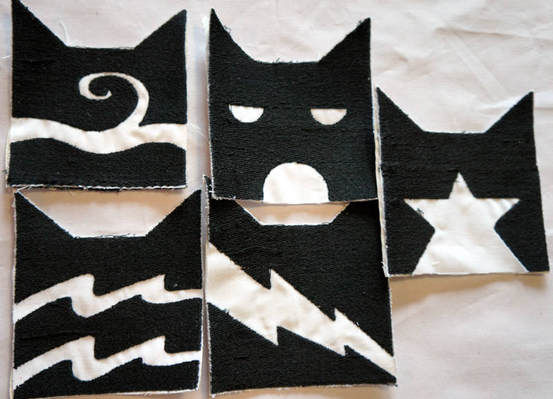 Warrior Cats Embriodered Iron On Patch Thunderclan Etsy