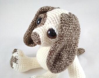 Crochet dog - Toy dog - Toy puppy - Amigurumi dog - Kids' toy - Baby gift