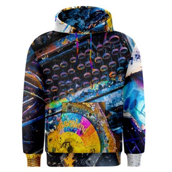 Men's Chaos Theory Pullover Hoodie Hooded Sweatshirt Beautiful Destruction Collection Photography Inspired Fashion Streetwear