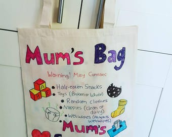 Titch's Tote Bags