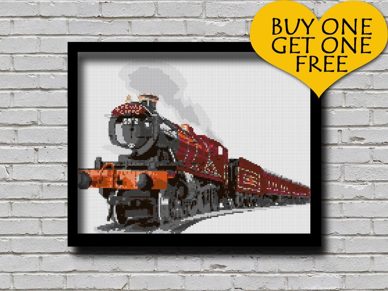 graphic about Hogwarts Express Printable titled Cross Sch Practice Hogwarts Specific Printable Behavior Harry Potter Childerns E book Topic Xsch Educate Routine Wall Artwork Do-it-yourself Present