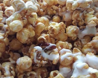 Cinnabun Popcorn with Pecans
