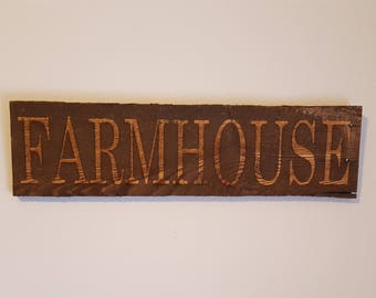 WELCOME rustic pallet wood sign