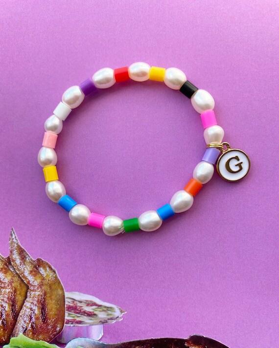 Colourful 90/'s Love Heart Charm