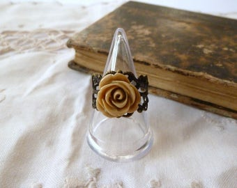 Resin ring and Brown print