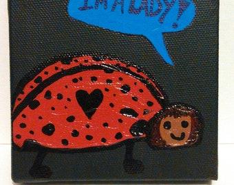 Upstanding Ladybug