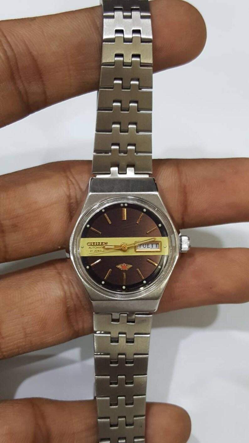 d1cb2b11e RARE WOMEN'S Citizen vintage Automatic watch dual colour   Etsy