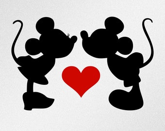 Mickey and minnie | Etsy