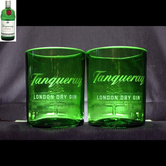 tanqueray gin premium felsen gl ser set von 2 etsy. Black Bedroom Furniture Sets. Home Design Ideas