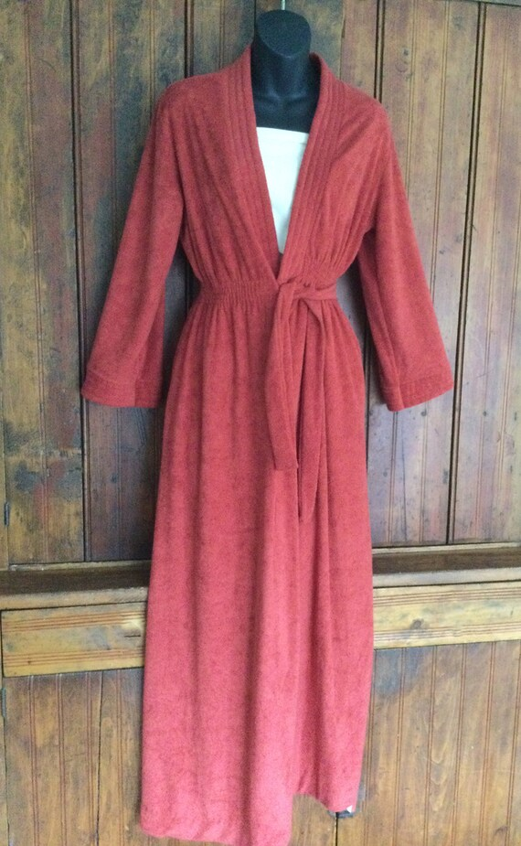 Vintage Hanna Andersson dressing gown or robe, Med