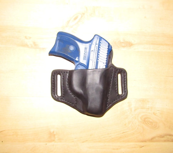 Leather Holster Custom Crafted for the Ruger LC9 from premium leather for EDC, OWB