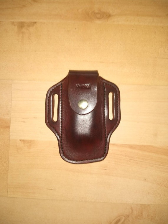 Leather Gerber sheath, custom crafted for Gerber 600 Gerber sheath, custom replacement sheath, leather case, belt, EDC, OWB