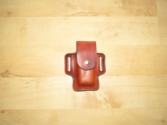 Leather Sheath, Leather Case customized to FRN, sheath for Multitool Asist
