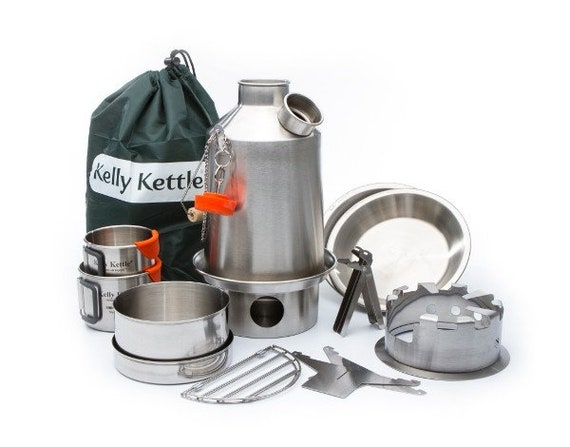Kelly Kettle, BOIL WATER Ultra-Fast in the outdoors with the famous Kelly Kettle® Ultimate Scout Kit