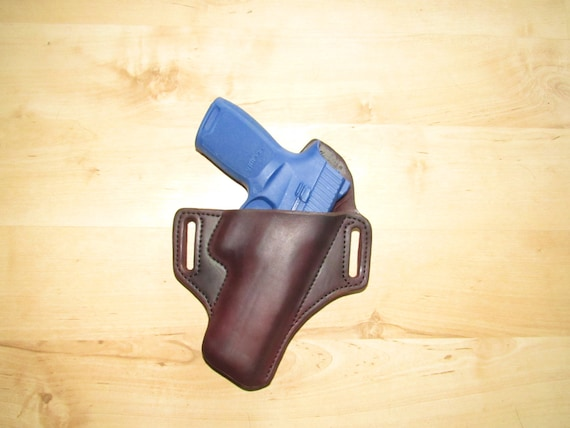 Leather Holster custom crafted for Sig SAUER P250, custom crafted from premium leather for EDC, OWB