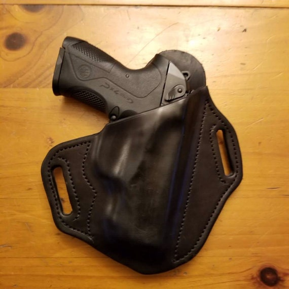 Leather Holster for Beretta PX4 Storm, Beretta Storm Holster, custom crafted from premium leather for EDC, OWB