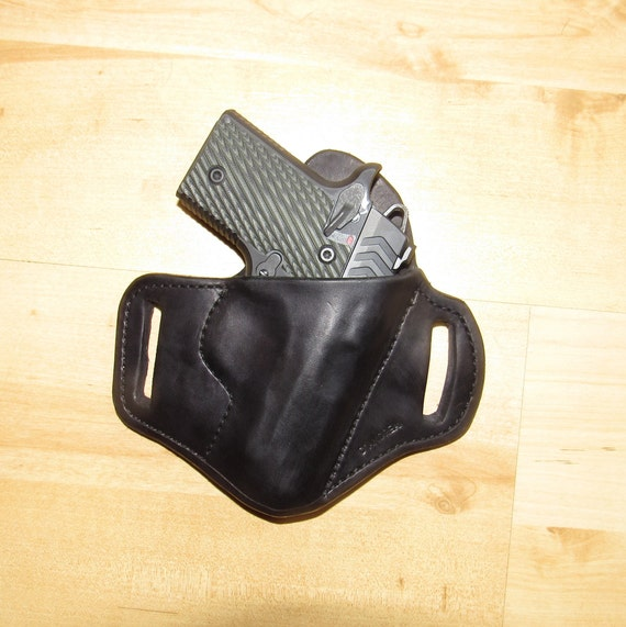 Leather Holster for 911, custom crafted Holster from premium leather for OWB